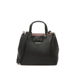 Kate Spade New York Womens Leather Satchel Bag